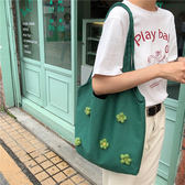 帆布包帆布包女側背斜挎袋學生日系ins大容量文藝韓版小雛菊泫雅風花朵可卡衣櫃