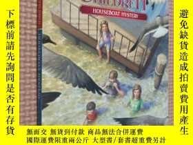 二手書博民逛書店Houseboat罕見Mystery (The Boxcar Children Mysteries #12)Y