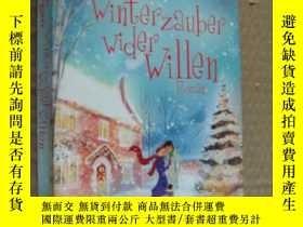 二手書博民逛書店WINTER罕見ZAUBER WIDER WILLEN 德文原版