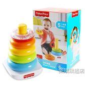 彩虹套圈疊疊樂套圈彩虹圈套塔積木嬰幼兒早教益智玩具
