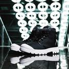 【南紡購物中心】【PALLADIUM】PAMPA HI ORIGINALE 彈道尼龍防水軍靴 / 黑白 男女鞋
