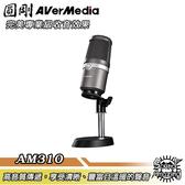 圓剛 AM310 黑鳩 高音質USB麥克風 直播/演唱專用【Sound Amazing】