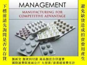 二手書博民逛書店Pharmaceutical罕見Operations Management: Manufacturing For