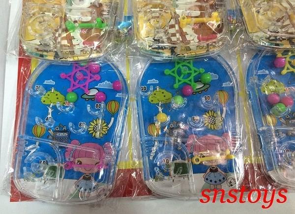 sns 古早味 懷舊童玩 玩具 星星 彈珠台 彈珠檯 迷你彈珠台 (12台) 圖案款式隨機出貨