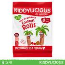英國 Kiddylicious 迷你草莓椰子卷 mini stawberry Rolls 保存期限:2019.04.23