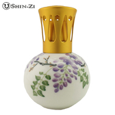 紫藤 陶瓷薰香瓶 陶瓷瓶 薰香瓶 薰香精油瓶 香薰瓶 香薰精油瓶
