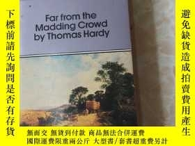 二手書博民逛書店far罕見from the madding crowd by t