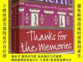 二手書博民逛書店Thanks罕見for the Memories 英文原版 正品