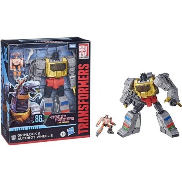 《 TRANSFORMERS 變形金剛電影 6 》世代系列電影版無敵戰將組 Grimlock and Autobot Wheelie / JOYBUS玩具百貨