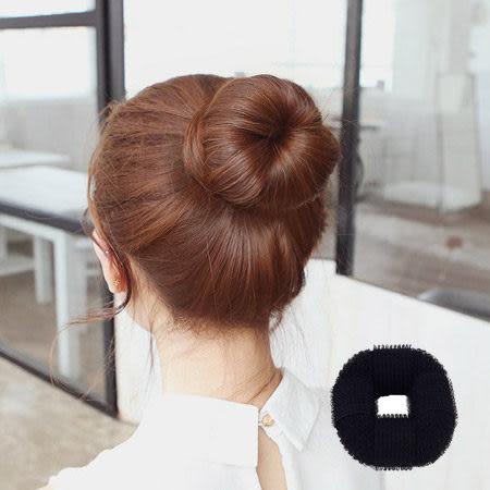 甜甜圈丸子頭自黏型盤髮器 日系包包頭 頭飾 髮飾 美髮小物