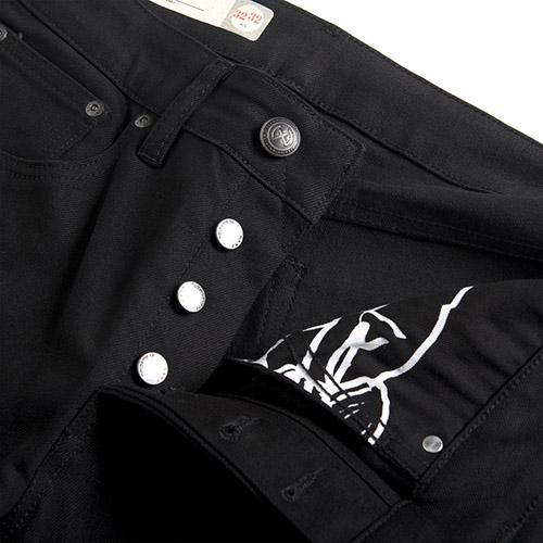 Deus Ex Machina Albero Skinny 牛仔褲  | 騎士衝浪品牌 -  (黑)