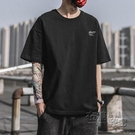 短袖男T恤2020夏季新款潮流韓版休閒體恤ins純棉寬鬆男生上衣 雙十二全館免運