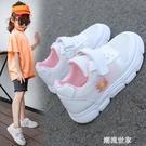 兒童網紅小雛菊板鞋2020春夏款女童單網小白鞋男童透氣網面運動鞋『潮流世家』