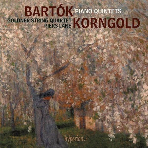 【停看聽音響唱片】【CD】巴爾托克 / 康果爾德:鋼琴五重奏 / 皮爾斯.藍 鋼琴 郭德納弦樂四重奏