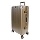 【YC Eason】古典26吋鋁框避震行李箱(鈦金)