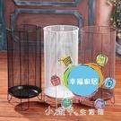 雨傘架雨傘桶家用 歐式鐵藝創意酒店大堂落地式放雨傘的架子 居家收納桶【全館免運】