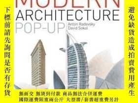二手書博民逛書店The罕見Modern Architecture Pop-up Book-現代建築流行書Y436638 Ant