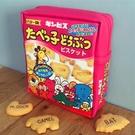 ins 網紅款 筆袋 化妝包 萬用包 收納包 日本動物餅乾