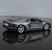 汽車模型1 24模型金屬合金跑車汽車模型仿真擺件兒童節禮物