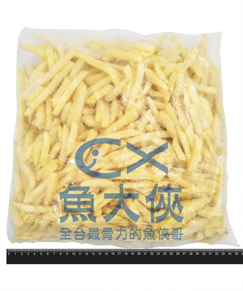 1I1A【魚大俠】FF224麥肯金酥脆薯(2kg/包)#402575