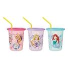 【震撼精品百貨】公主 系列Princess~DISNEY塑膠吸管杯(320ML)-3入#37954