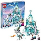 LEGO 樂高 迪士尼公主 Elsa s 神奇冰宮 43172 玩具城堡(701件)