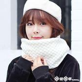 新款韓版毛線圍巾套頭圍脖女冬天脖套韓國秋冬季加厚學生圍巾圍脖 西城故事