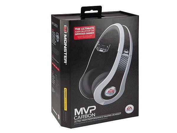 【海恩數位】美國魔聲 Monster EA SPORTS 電競遊戲耳機 具備HDHS 高清環繞耳機功能 白 (褔利品出清)