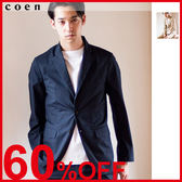 出清 合身西裝外套 彈性高密度平織 成套西裝 現貨 免運費 日本品牌【coen】