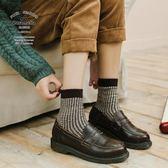 CARAMELLA秋冬季中長筒女士韓版加厚原宿潮流日系羊毛襪子學院風