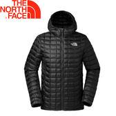 【The North Face 美國 男款 ThermoBall 保暖兜帽外套《黑》】3666/暖魔球/輕便打包/可套接★滿額送