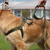 大狗狗牽引繩胸背帶遛狗繩子金毛狗鏈子中型大型犬寵物用品「Top3c」