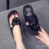 人字拖鞋女外穿夏季創意家用夾腳拖鞋高跟【少女顏究院】
