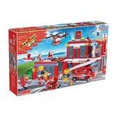 消防系列 NO.8311消防總部 大盒【BanBao邦寶積木楚崴】