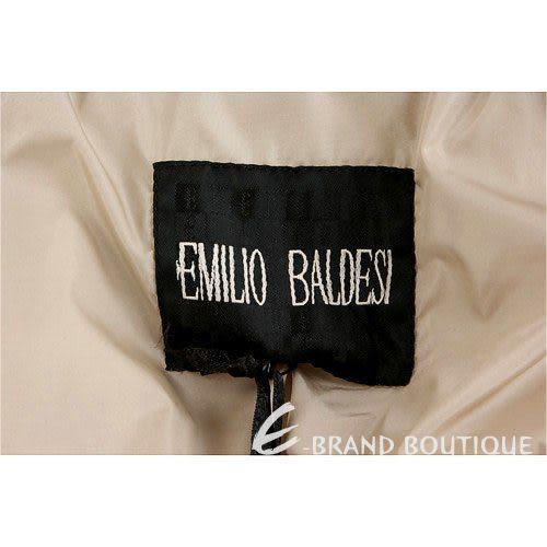 EMILIO BALDESI 卡其色翻領造型外套 0840295-28
