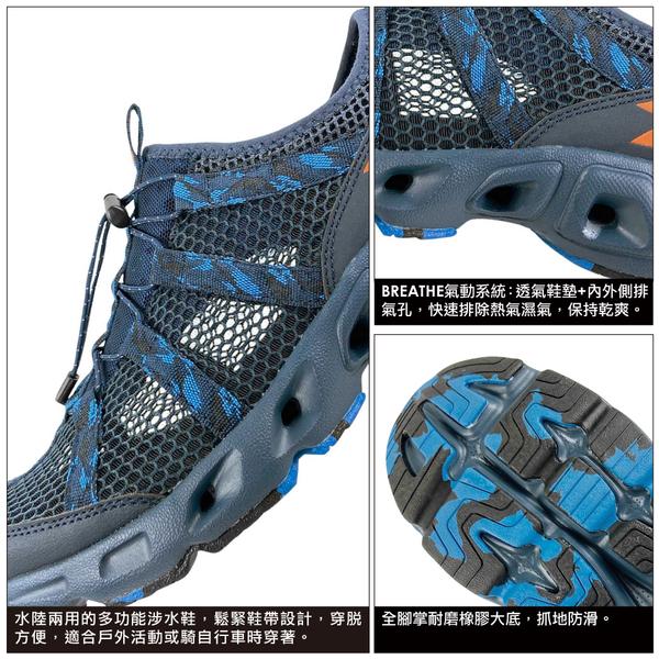 《Diadora》男鞋 涉水鞋 藍色 DA73137
