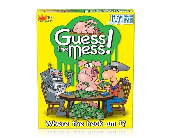 [楷樂國際] 亂中求序 Guess the Mess #R&R Games 桌遊
