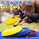 飛盤飛盤狗狗玩具訓練專用可浮水耐咬中大型犬【小獅子】