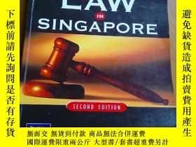 二手書博民逛書店BASIC罕見BUSINESS LAW IN SINGAPORE