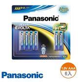 Panasonic 鈦元素電池4 號6 入國際EVOLTA AAA 1 5V