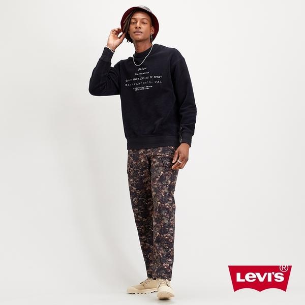 Levis 男款 上寬下窄 XX CARGO 休閒工作褲 / 落葉迷彩 / 形象款