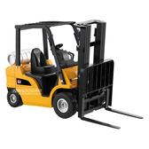 HY TRUCK華一 2512-4堆高機 工程合金車模型車 叉車 堆高車(1:25)【楚崴玩具】