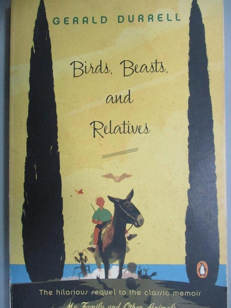 【書寶二手書T3/動植物_HOC】Birds, Beasts, and Relatives_Durrell, Geral