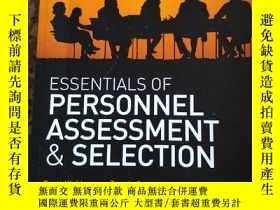 二手書博民逛書店Essential罕見of Personnel Assessme