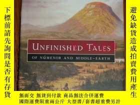 二手書博民逛書店訂購罕見未完成的故事 美版 精裝 Unfinished Tale
