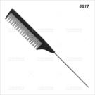 派迪佳抗熱碳纖鐵針尖尾刮梳(8617)單支(美髮梳子)[59305]