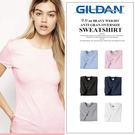 吉爾登圓領素短T 美國棉GILDAN 76000 黑色