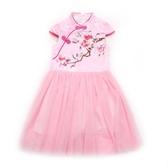 兒童裝小女孩子旗袍6公主裙子女童禮服連身裙夏裝夏天