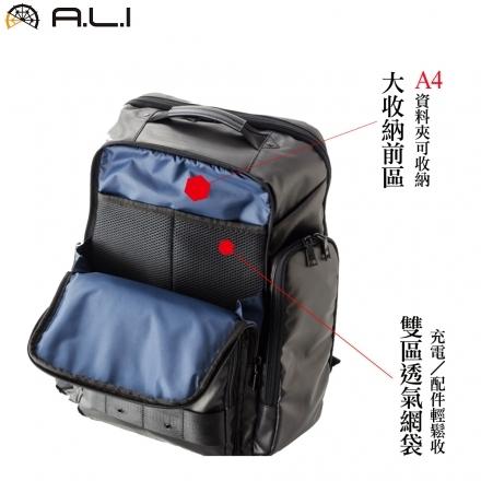 【團購威力大】A.L.I 防水3WAY 機能後背公事包/後背包/電腦包(WTZ-3313)【威奇包仔通】
