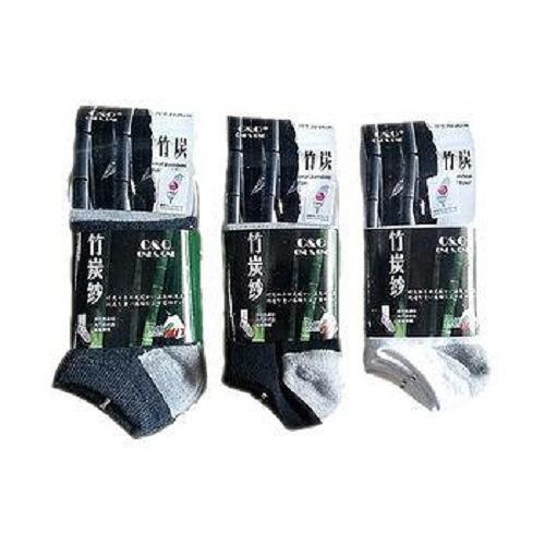 竹炭船型襪  4入裝 (22~26cm)【愛買】